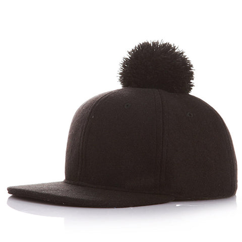 Put a Pom on it Hat - Black