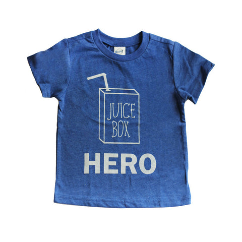 Juice Box Hero Tee Blue