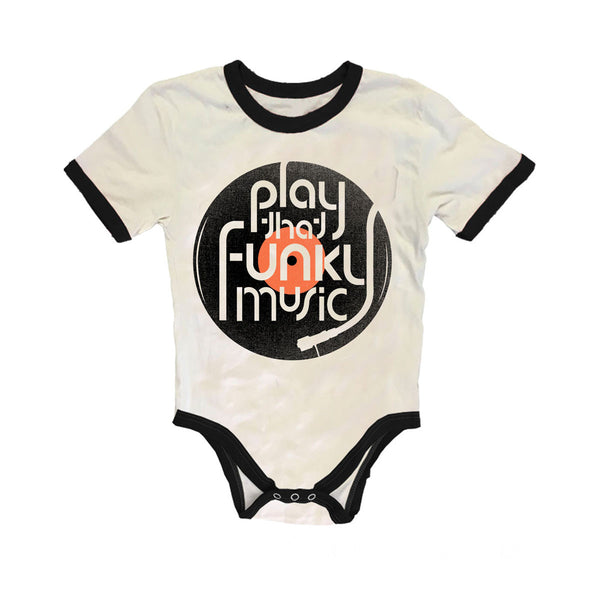 Rowdy Sprout Play That Funky Music Onesie