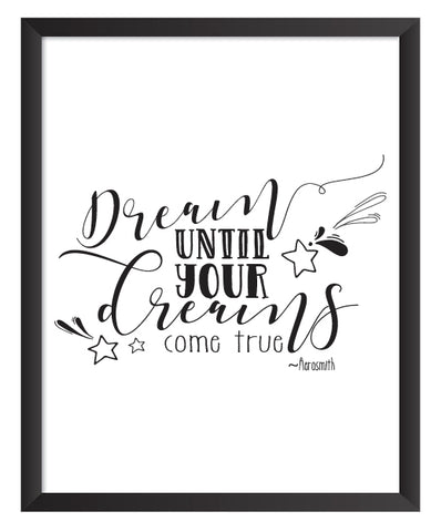 Dream Print - Dream On