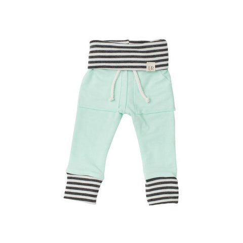 Soft Mint Stripe Sweatpants