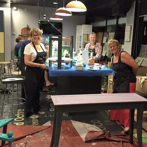 """Paintin' Party"" Chalk Paint® Workshop - Artworks Northwest  - 1"