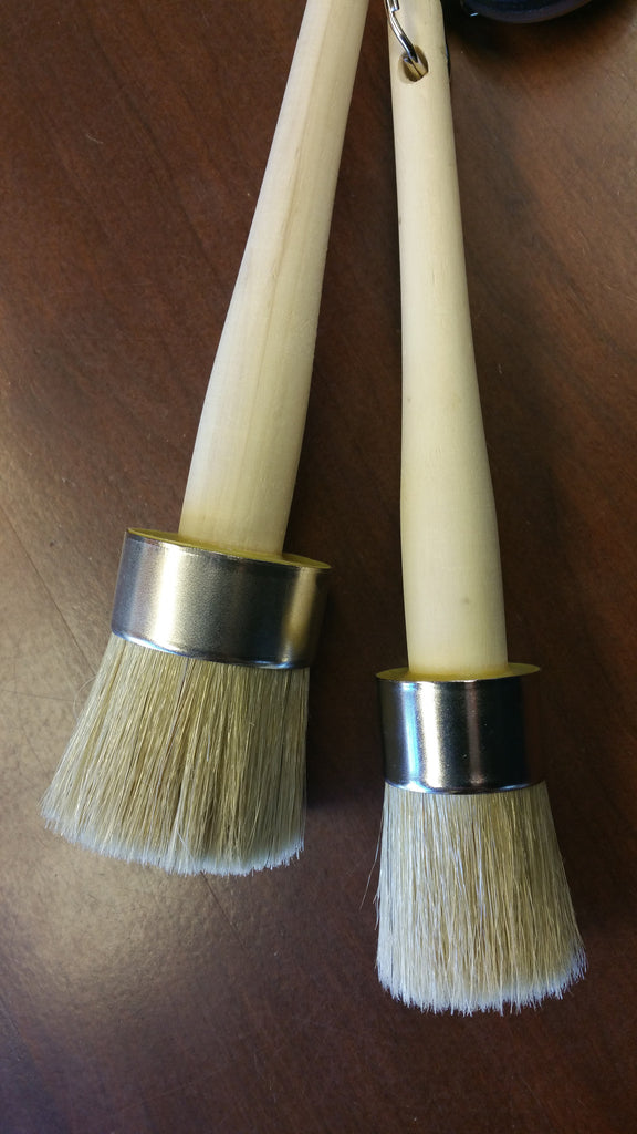Round Wax Brush - Artworks Northwest  - 1
