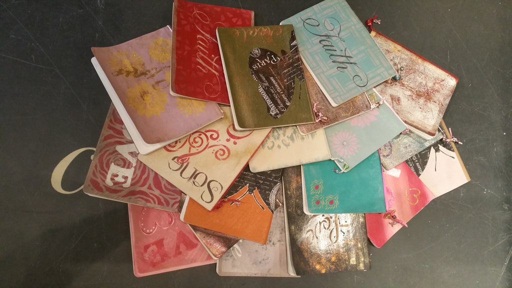 """Handpainted Journals"" Paintin' Party - Artworks Northwest  - 1"
