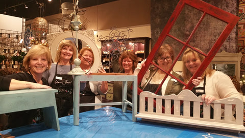 """Paintin' Party"" Chalk Paint® Workshop - Artworks Northwest  - 2"