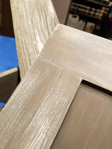 """French Barnwood Finish"" Chalk Paint Technique Workshop"
