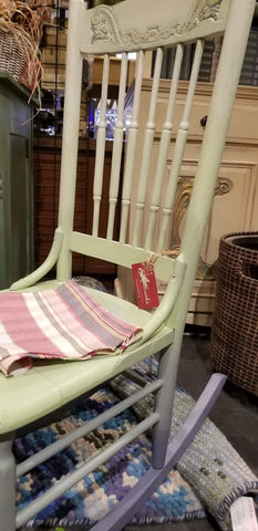 Antique Rocking Chair painted Ombre
