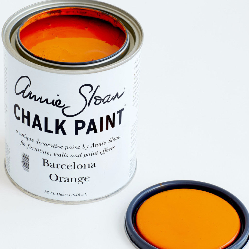 Barcelona Orange Chalk Paint® - Artworks Northwest  - 1