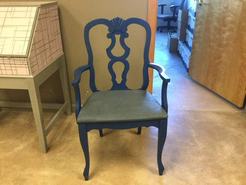 Hand Painted Captains Chair - Artworks Northwest