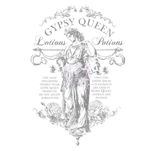 "IOD_""Gypsy Queen"" Decor Transfer"