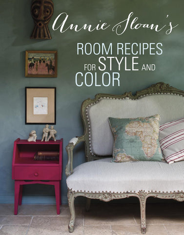 """Room Recipes for Style and Color"" Book by Annie Sloan - Artworks Northwest"