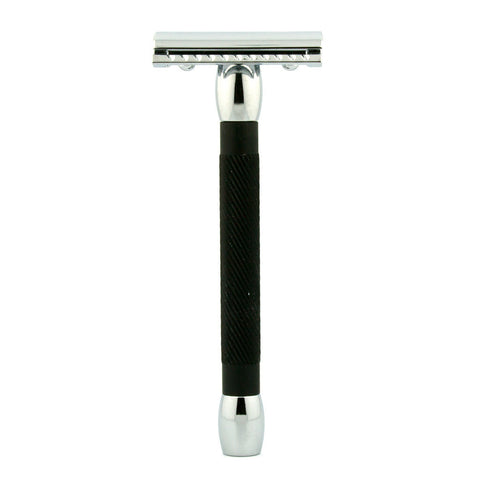 Merkur 20C, Closed Comb Safety Razor, Long Handle - Alpha Yard  - 1