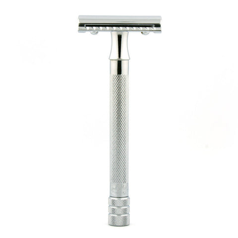 Merkur 23C, Closed Comb Safety Razor, Long Handle - Alpha Yard  - 1