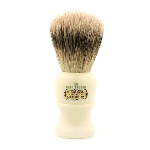 Simpson 58, Best Badger Shaving Brush - Alpha Yard  - 1