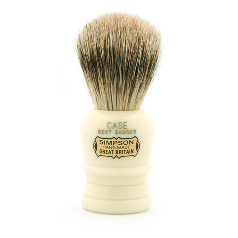 Simpson Case, Best Badger Shaving Brush - Alpha Yard  - 1