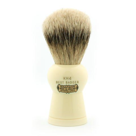 Simpson Keyhole KH4, Best Badger Shaving Brush - Alpha Yard  - 1