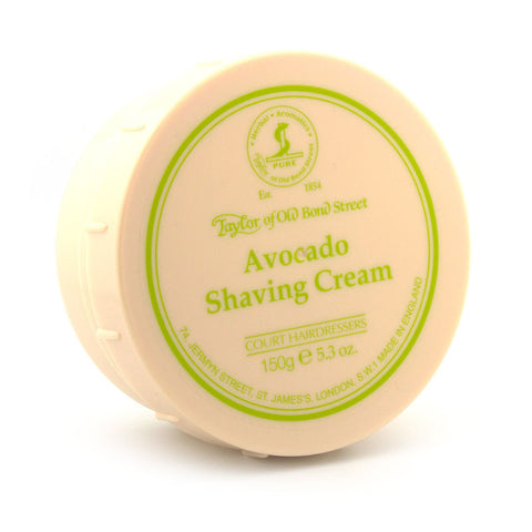 Taylor of Old Bond Street Avocado Shaving Cream, 150 ml - Alpha Yard