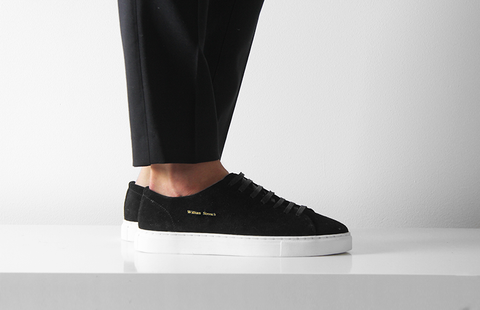 BLACK CLASSIC SNEAKER - William Strouch - 1