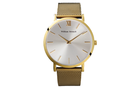 GOLD AND SILVER WATCH - William Strouch - 1