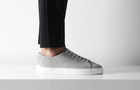 GREY CLASSIC SNEAKER - William Strouch - 1