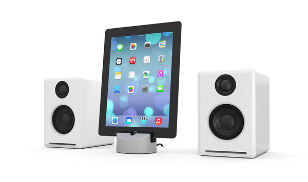 Audioengine Powered Desktop Speakers with Gravitas Dock for Apple iPhone/iPad