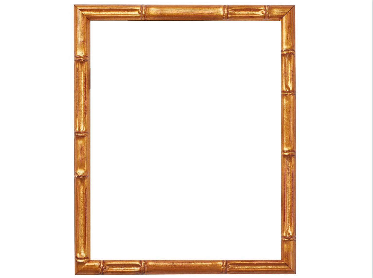 Vintage Painted Bamboo Frames With 75 Inch Matting Parker Kennedy