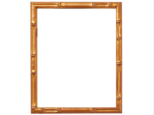 Vintage Painted Bamboo Frames with .75 inch Matting
