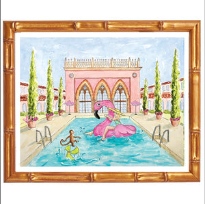 Addison + Lilly -The Boca Resort Art Prints