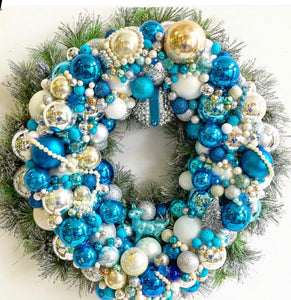 Custom Vintage Jewelry Wreath - Custom