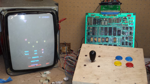 GALAGA Tested Working Mother Board CPU