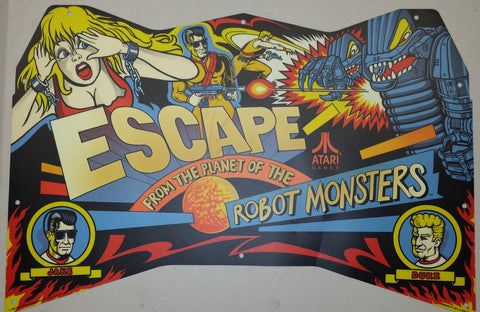 Escape from the Planet of the Robot Monsters Kit - Boards, Manual, Cables, Marqu