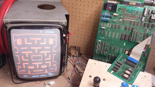 Ms. Pac-Man Tested Working Mother Board PCU- Game Speed- FAST!!