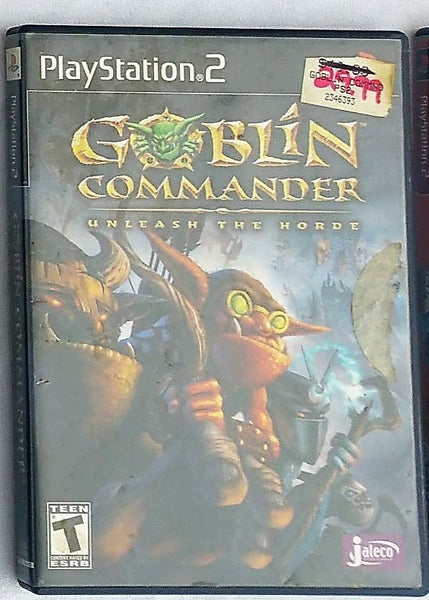Goblin Commander Video Game for PS2 Console System