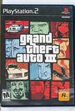 Grand Theft Auto 3 Video Game with Manual for PS2 Console System