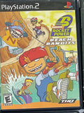 Nickelodeon Rocket Power Beach Bandits Video Game with Manual for PS2 Console System