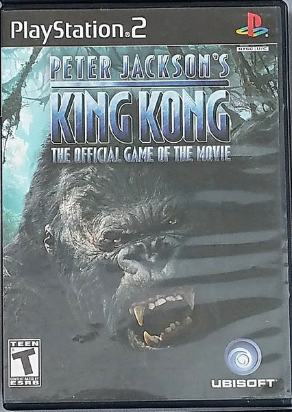 King Kong Movie Video Game for PS2 Console System