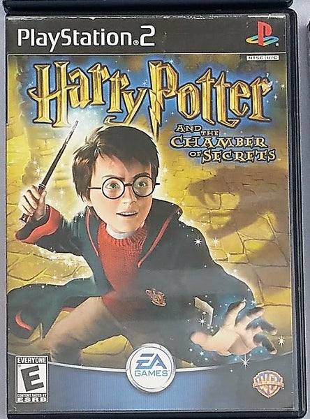 Harry Potter and the Chamber of Secrets Movie Video Game with Manual for PS2 Console System