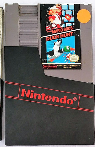 Super Mario Brothers and Duck Hunt Video Game for the Nintendo (NES) Console System