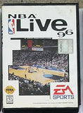 NBA Live 96 Video Game with Manual for the Sega Genesis Console System