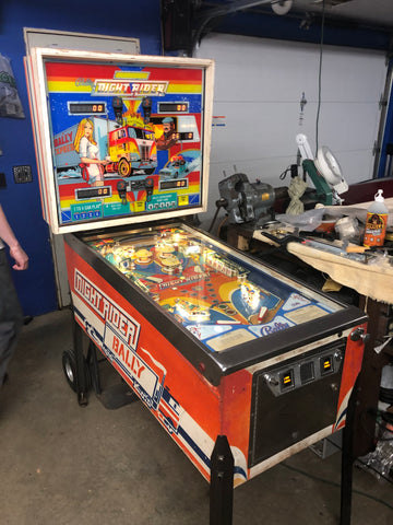 Bally Night Rider Pinball Machine - Just repaired and shopped - Works Great!