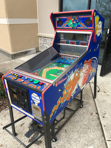 Williams Slugfest Pitch and Bat Pinball Machine - Just repaired - Works Great! Great for the Baseball Lover!