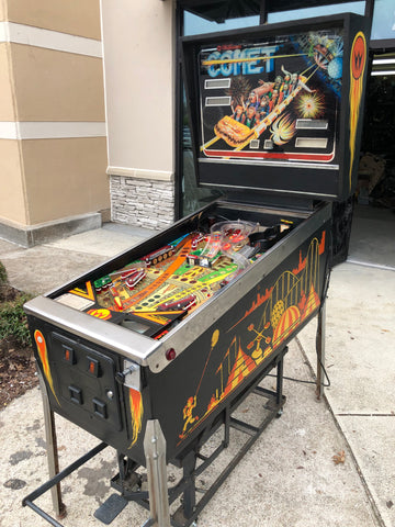 Williams Comet Pinball Machine - Just repaired and shopped! The Original of the Series! MILLION DOLLAR SHOT!