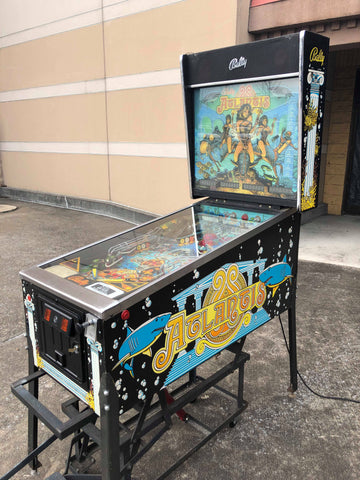 Bally Atlantis Pinball Machine - Works great!
