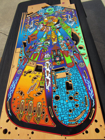 Williams Moster Bash Pinball Playfield NOS - New - Never Used