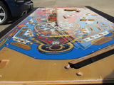 NOS Diamond Plate Williams FUNHOUSE Playfield Cleared By Ron Kruzman RARE