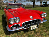 1958 & 2008 Matching VIN Chevrolet Corvette Convertible Set - 1 of 2 58/08 Sets in the World! - Museum Cars - UNBELIEVABLE