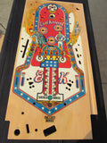 Original Bally Even Kineval Playfield - Restored - Clearcoated