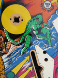 NOS Gottlieb Amazing Spider-Man Pinball Playfield - NEW - From the Gottlieb Archieve