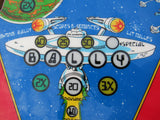 CPR GOLD Kruzman Cleared Bally Star Trek Pinball PLAYFIELD NEW Clearcoated