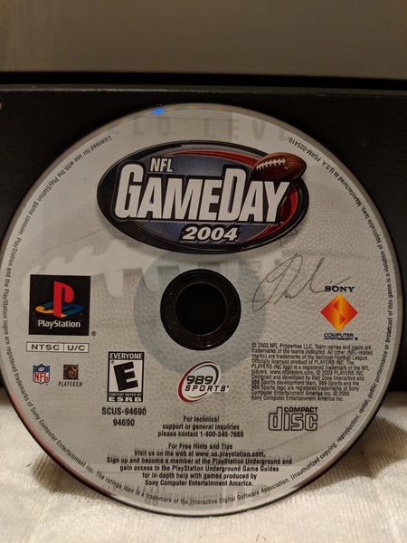 NFL Gameday 2004 Video Game for PS1 Console System